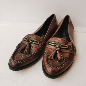 Brazilian Leather Jamie Loafers